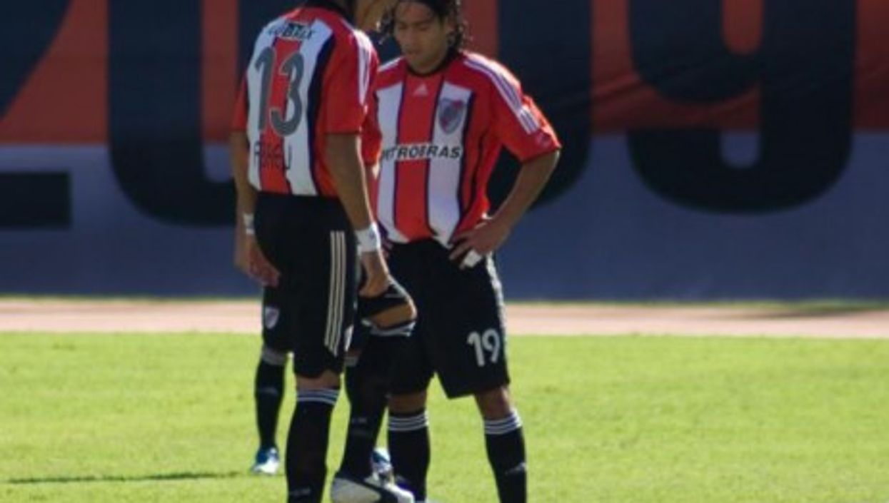 Petrobras is one of two Brazilian companies sponsoring Argentina's River Plate (above) soccer team