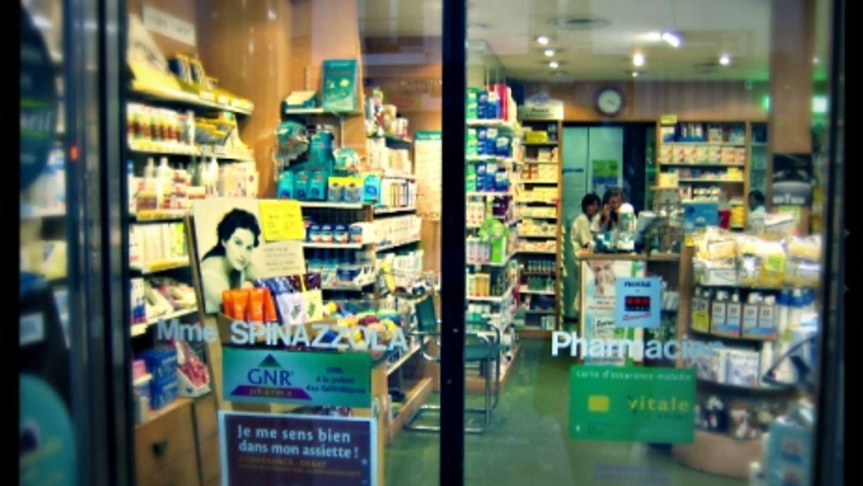 Pharmacists in Paris