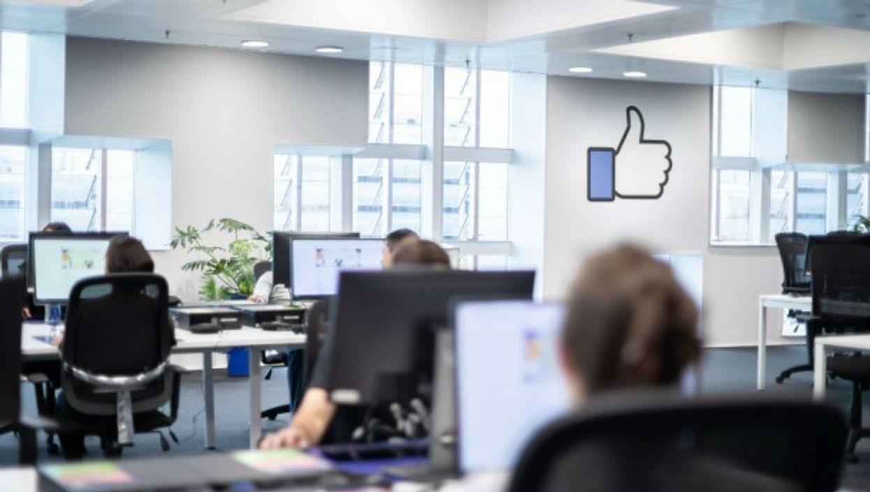 Photo of Facebook's Barcelona center, provided by Facebook