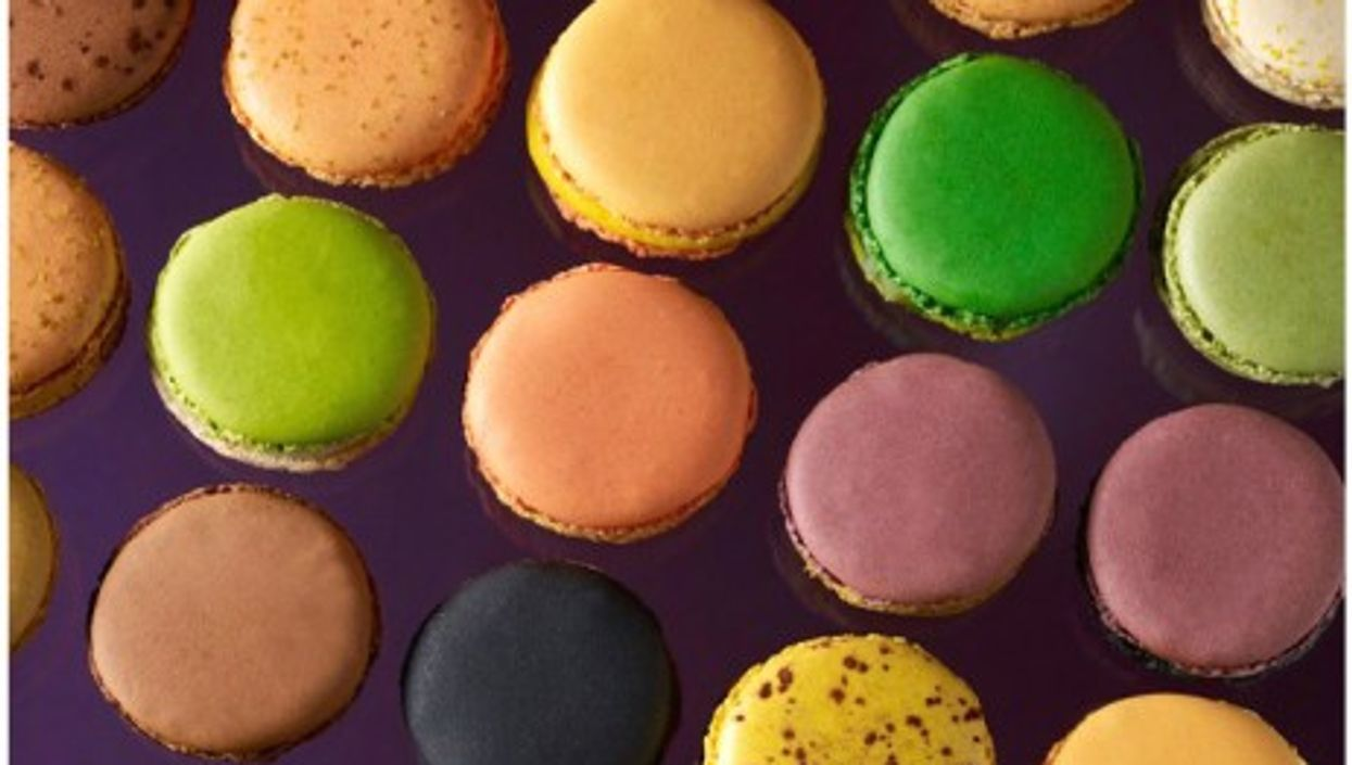 Pierre Herme creates about 10 new flavors of macarons every year