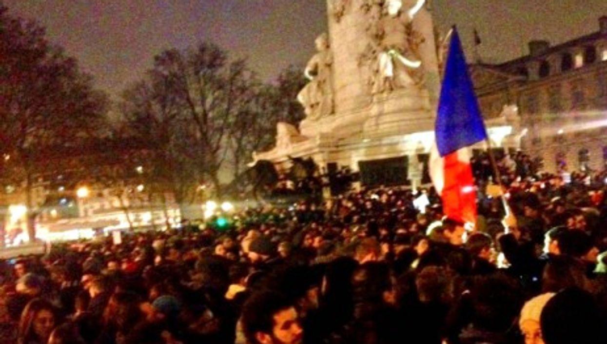 Place de la République in Paris on Wednesday