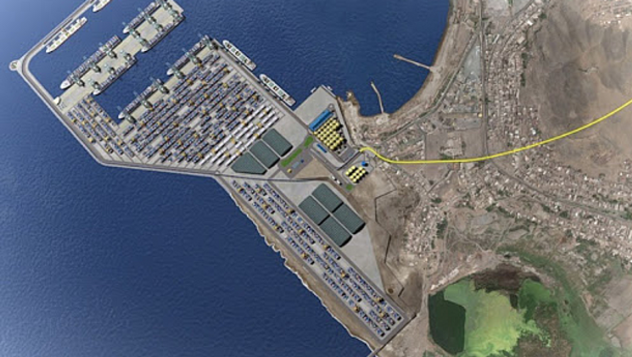 Plans for the Chancay port, hailed as an important stop on a New Silk Route