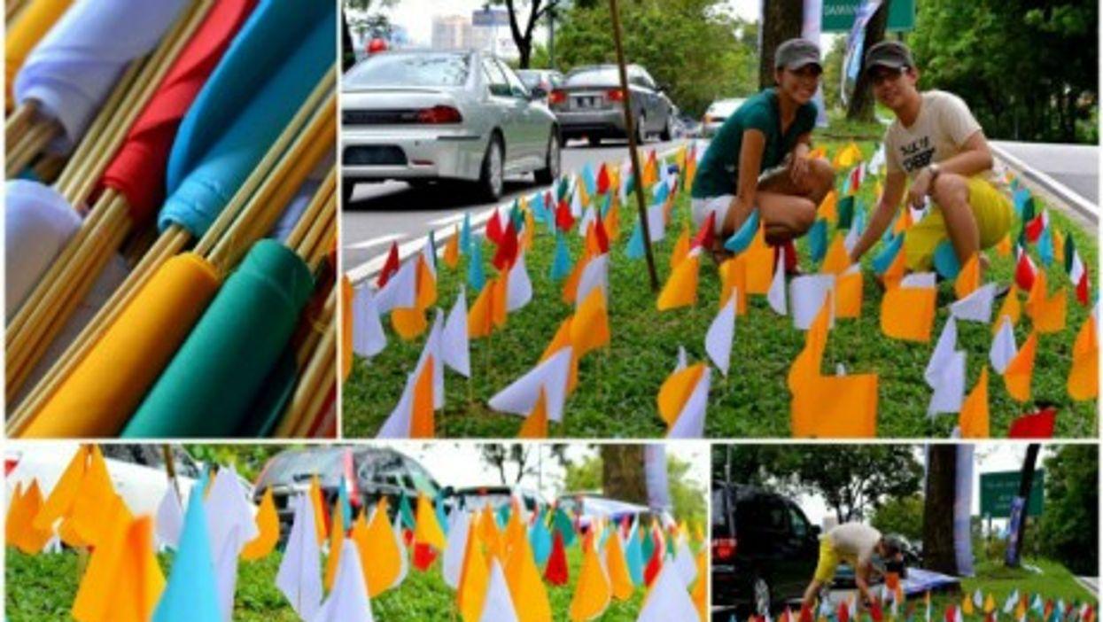"Planting ""flowers"" in Kuala Lumpur"