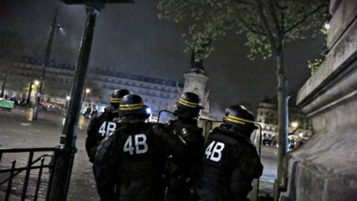 Police in Paris prepare for violent protests in April