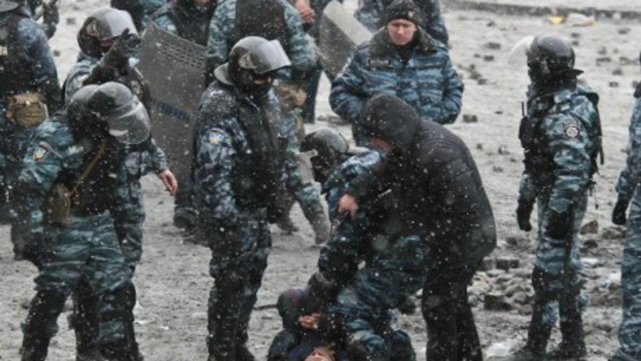 Police take charge in Kiev