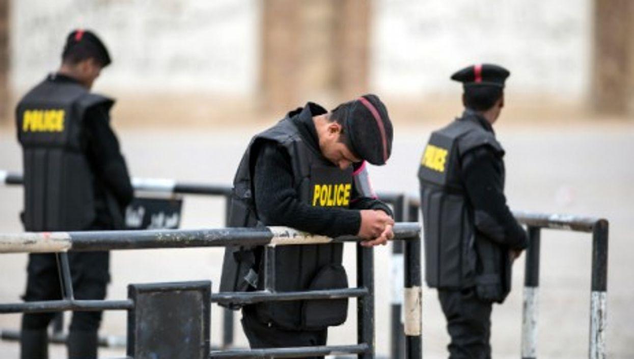 Policemen in Cairo