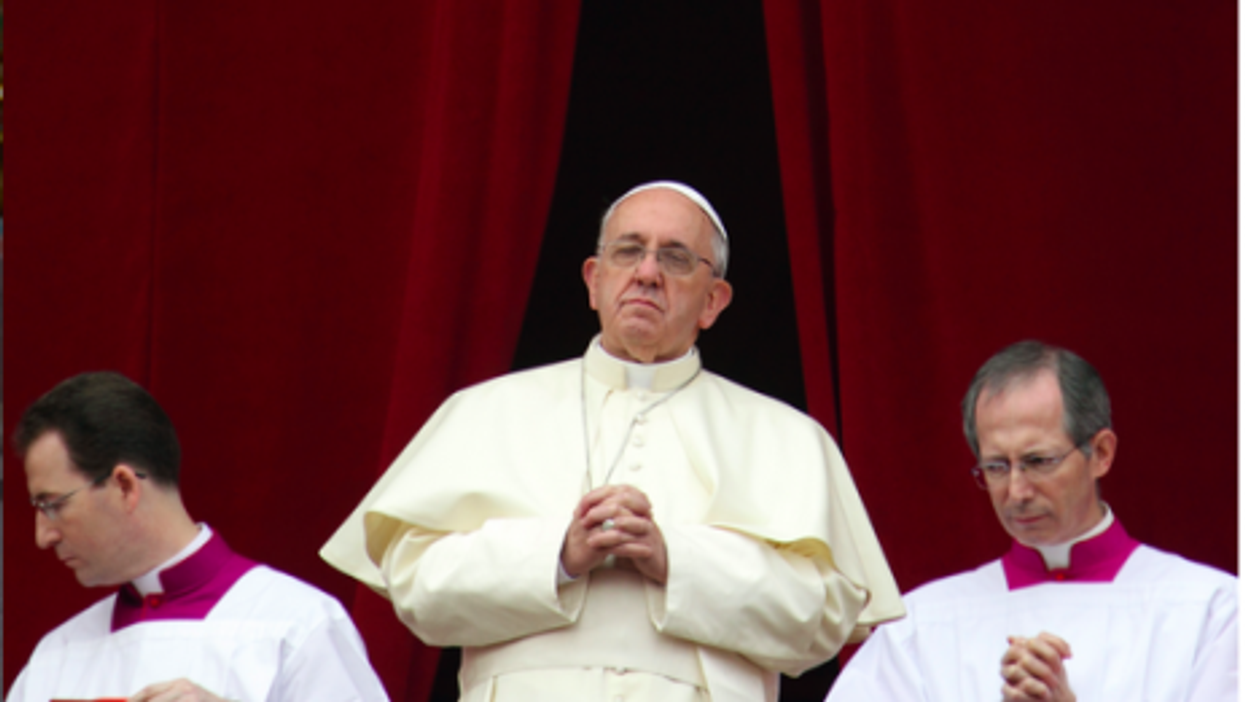 Pope Francis' first Urbi et Orbi message on Christmas day