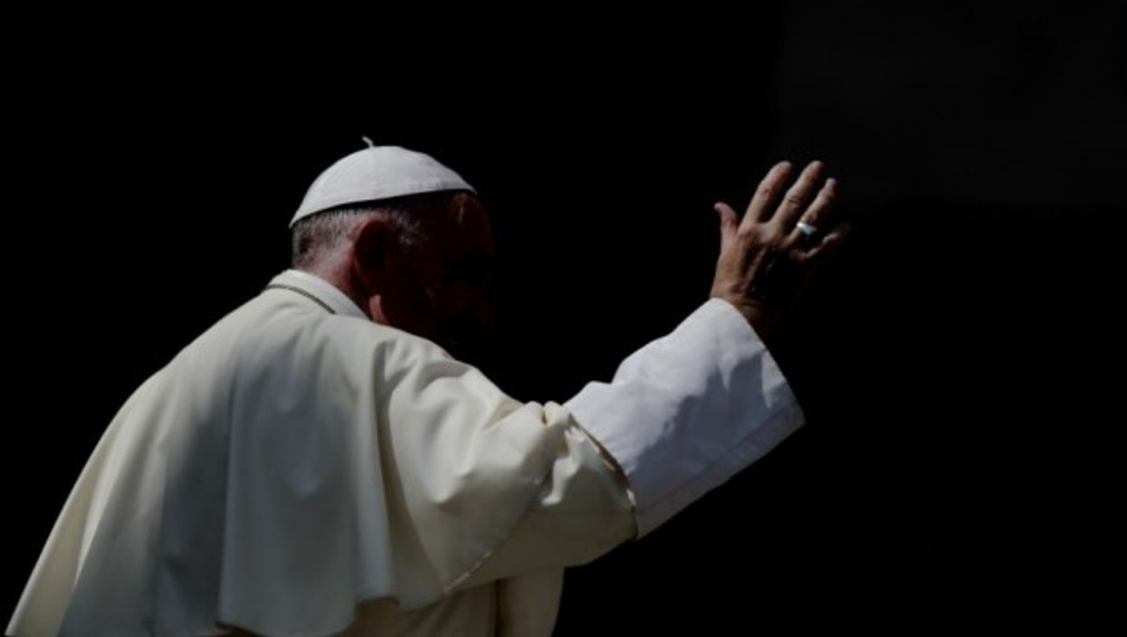 Pope Francis in Vatican City on Aug. 30