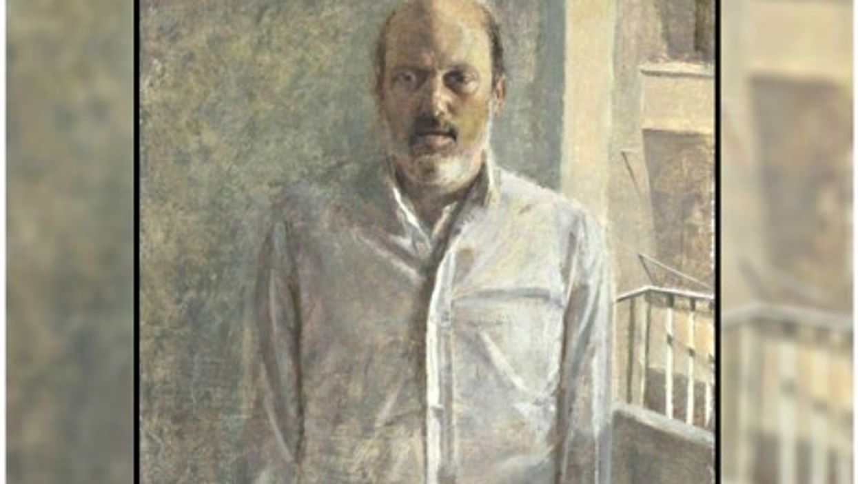 """Portrait of the Collector Arnie Druck"" by Daniel Enkaoua"