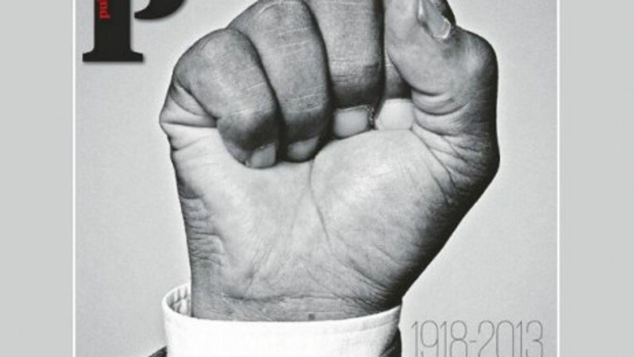 Portuguese daily Publico's front page