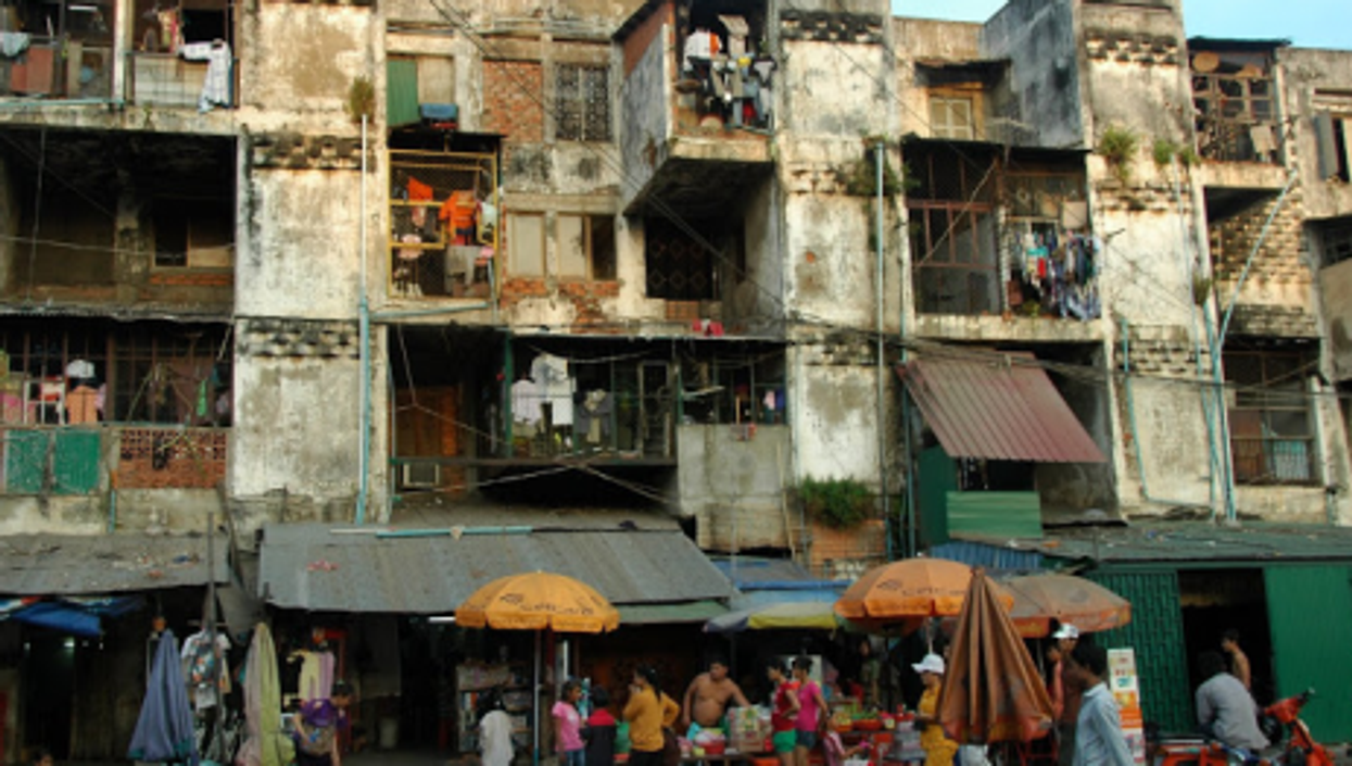 Poverty and commerce in Cambodia