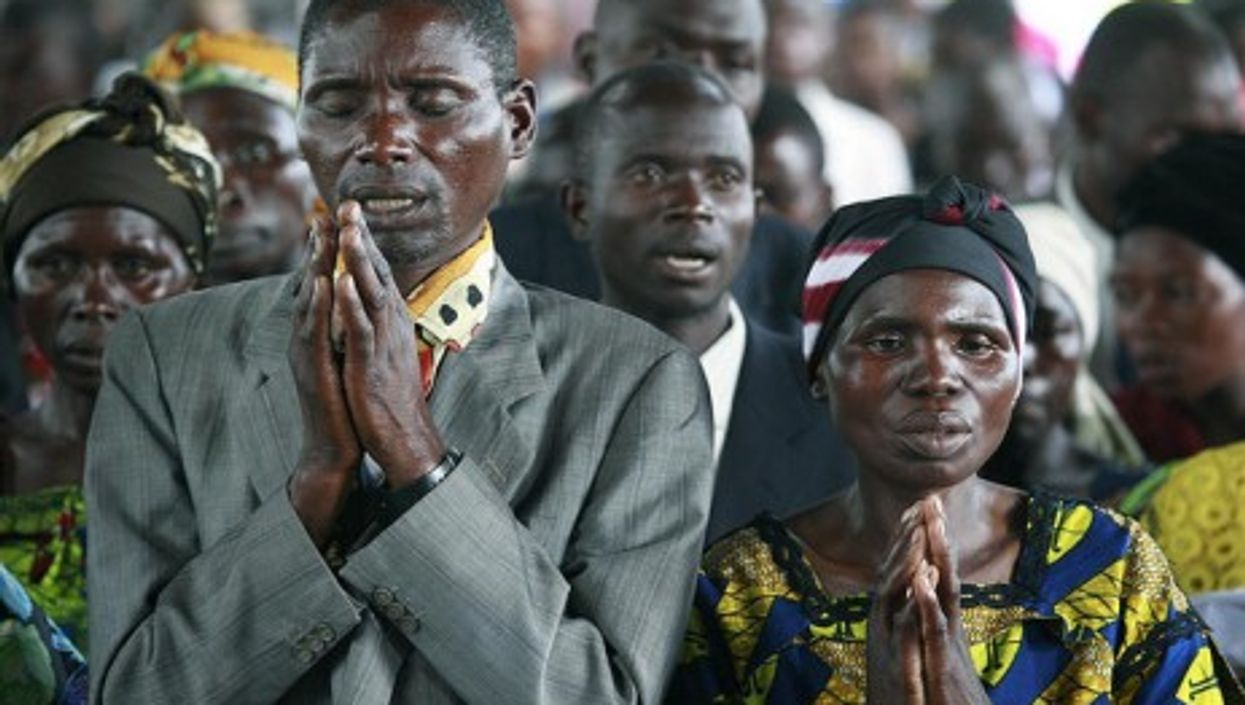 Praying for a peace and prosperous futures (babasteve)