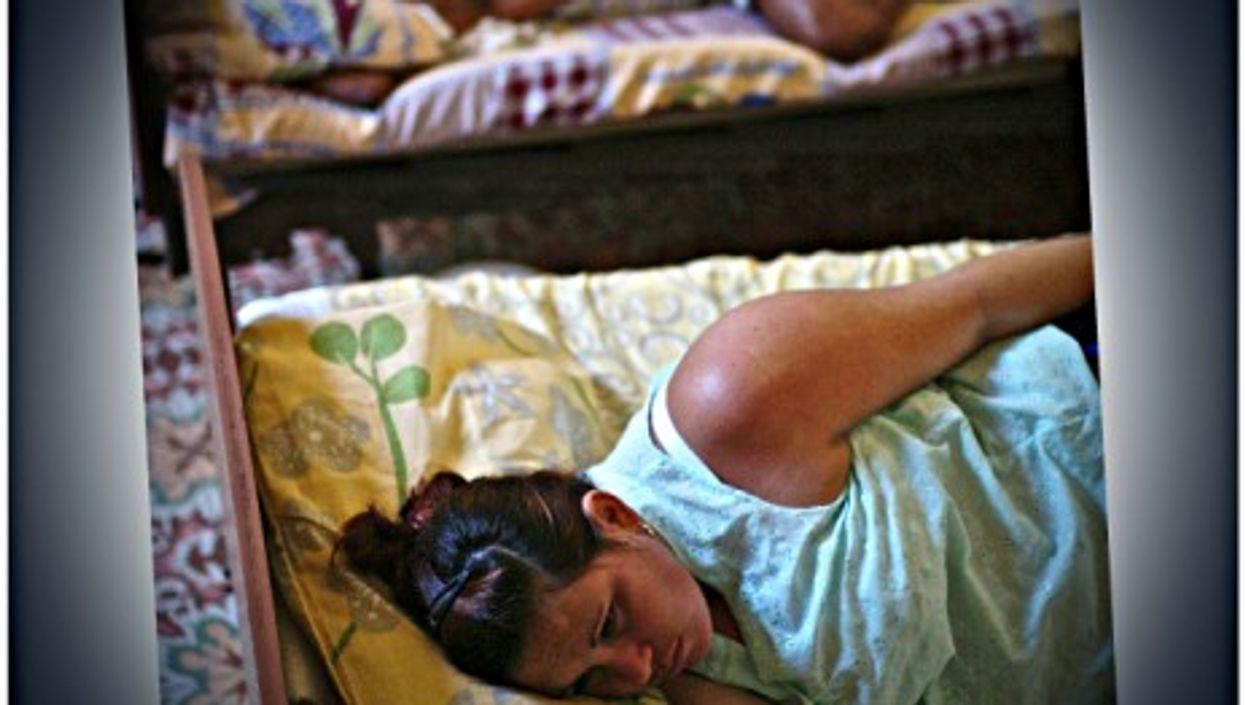 Pregnant women at La Maternidad, a special health center in Trinidad, Cuba