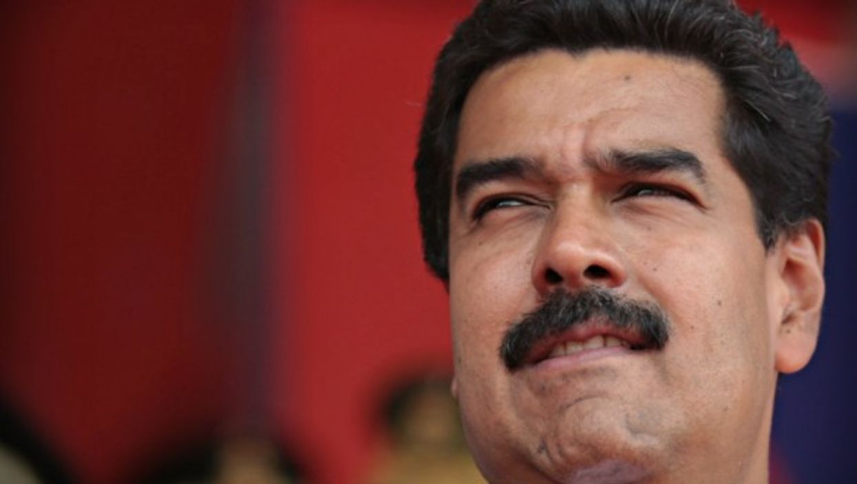 President Maduro, alone at the helm