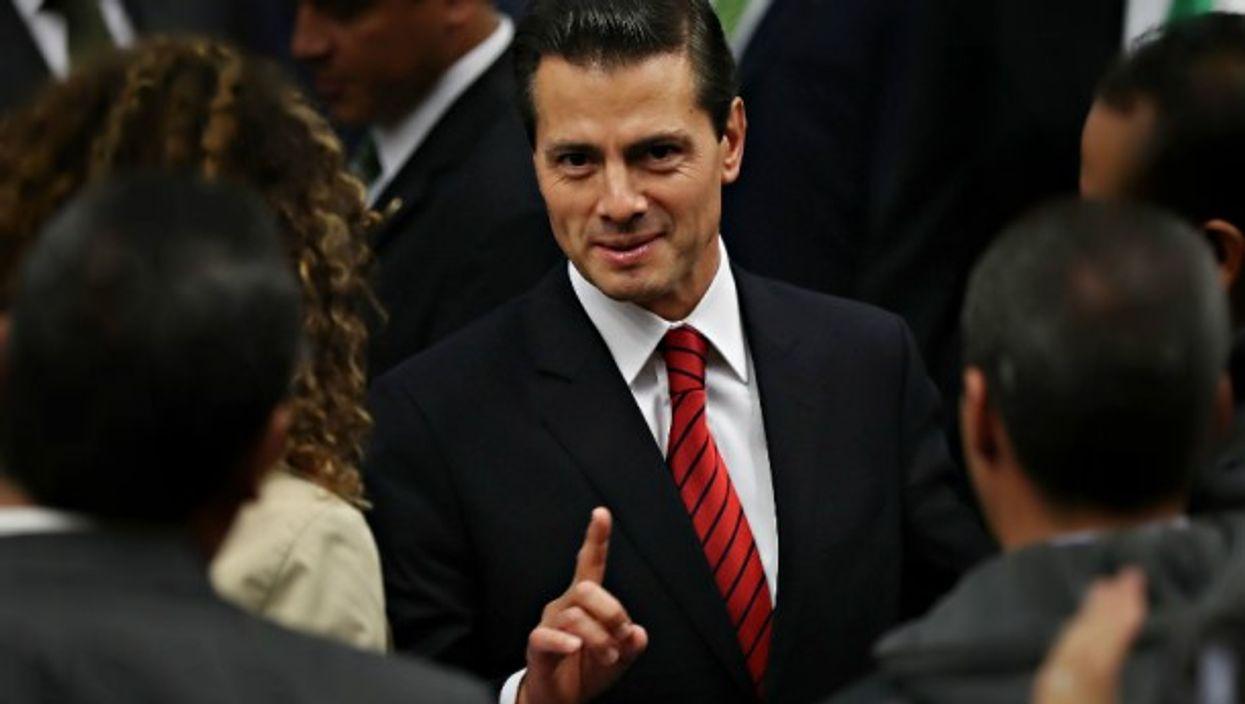President Pena Nieto in Mexico City on Nov. 9