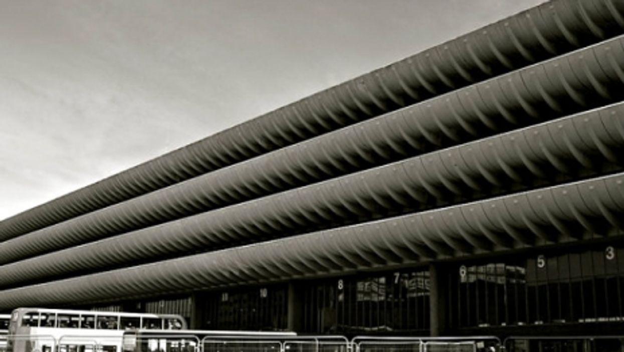Preston bus station, still standing