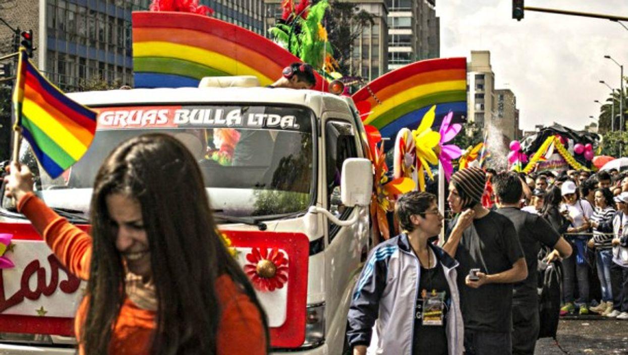 Pride in Bogota in 2013