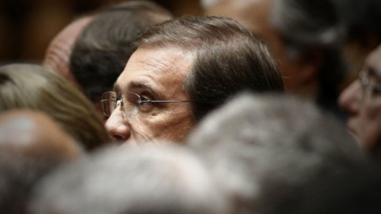 Prime Minister Pedro Passos Coelho during Parliamentary debate Monday