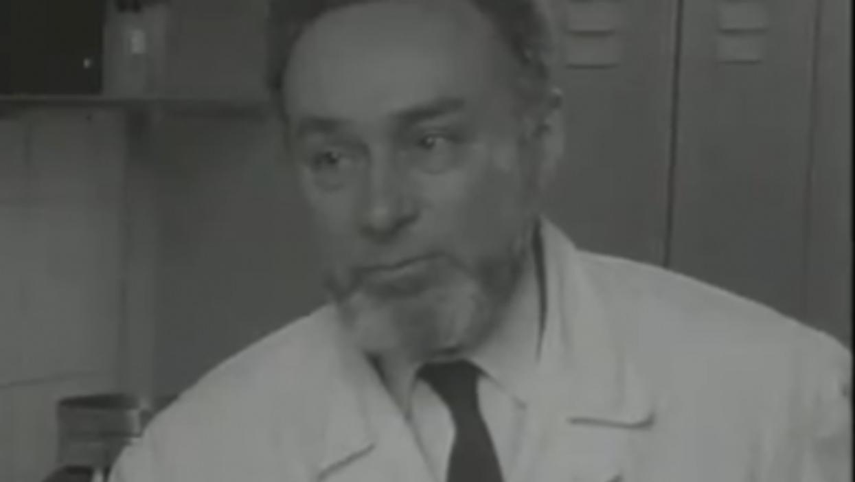Primo Levi, author and chemist (RAI)