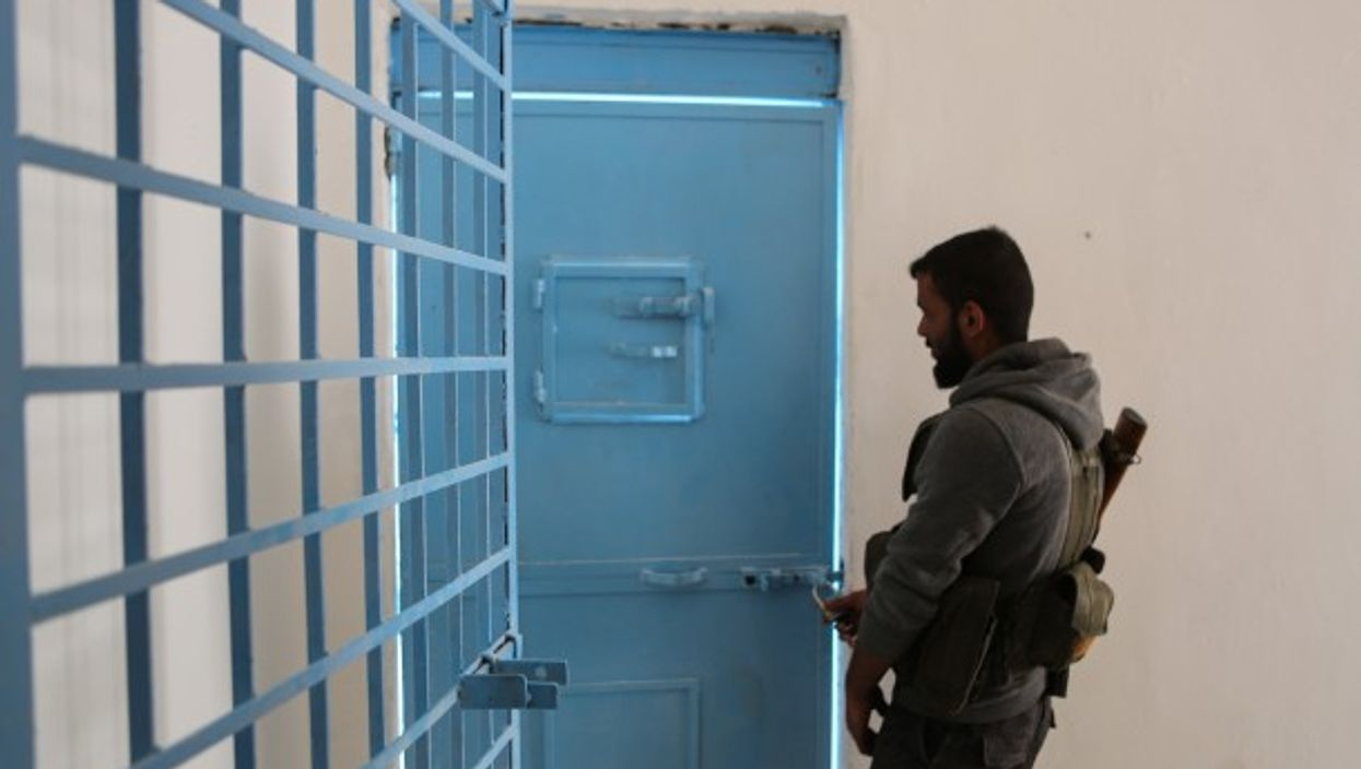Prison in Tal Abyad, Syria