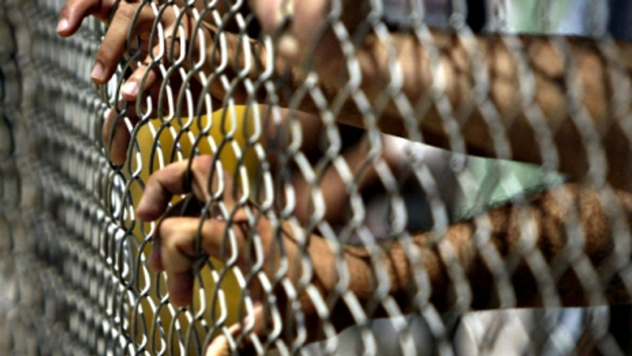 Prisoners at Abu Ghraib
