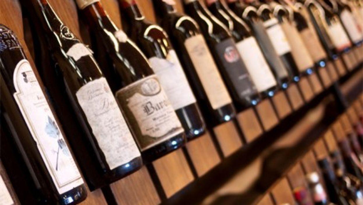 Prized vintages at the official Barolo tasting Enoteca (sporkist)