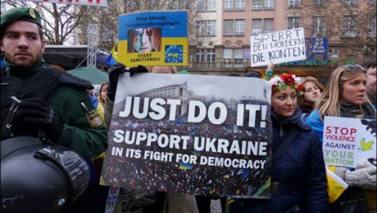 Pro-Kiev protests in Munich
