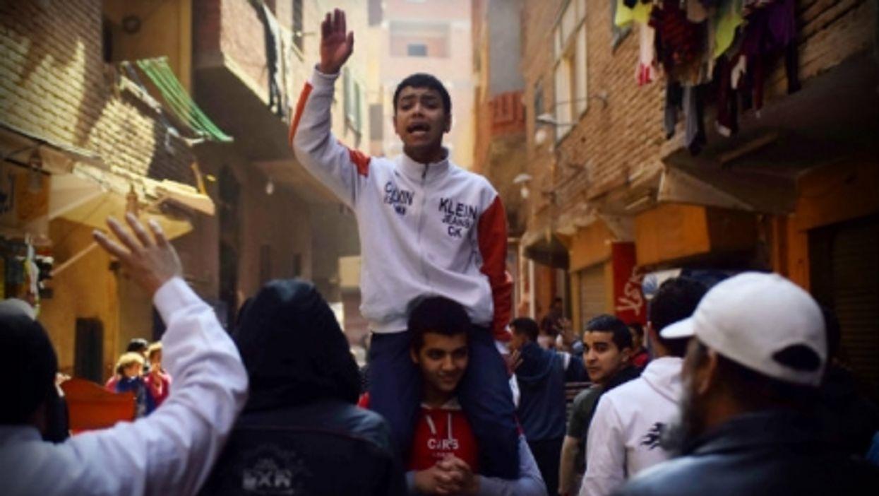 Pro-Muslim Brotherhood protesters last week in Cairo