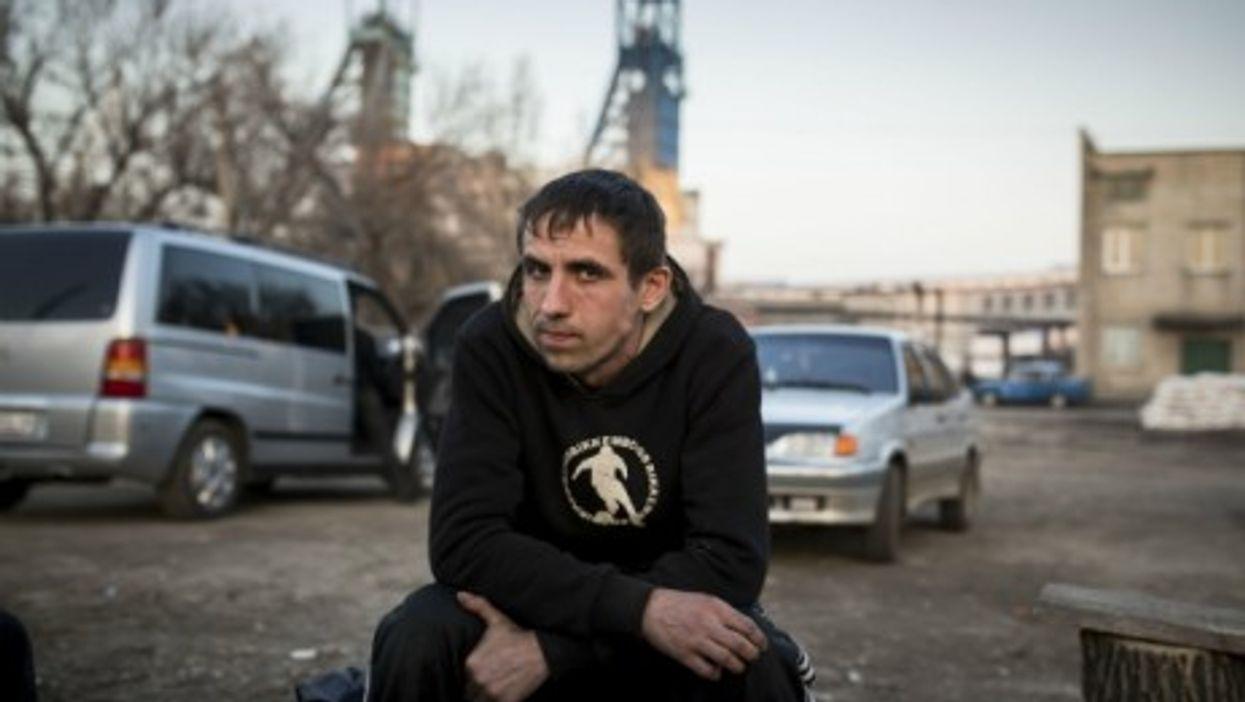 Pro-Russian activists in Donetsk don't trust Kiev.