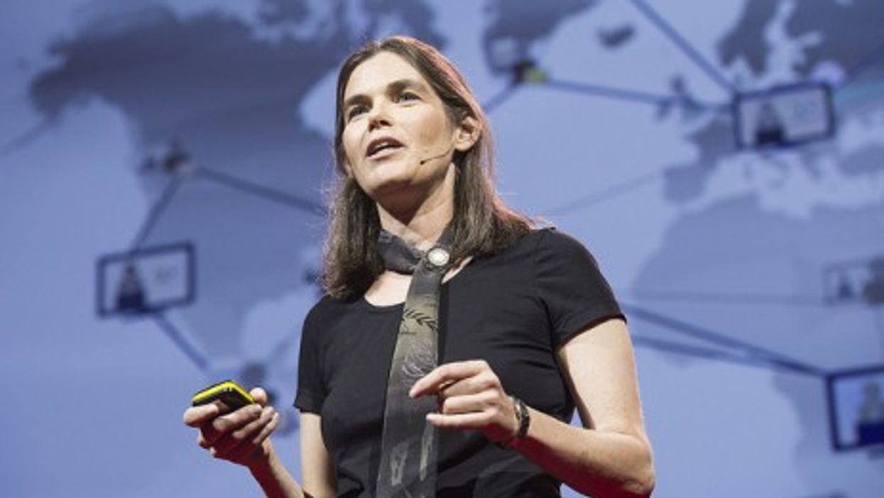 Professor Daphne Koller at the TED conference