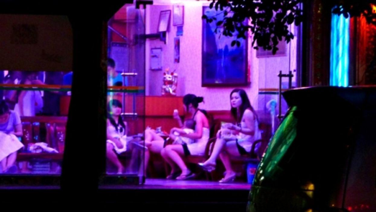 Prostitutes in Shenzhen, China
