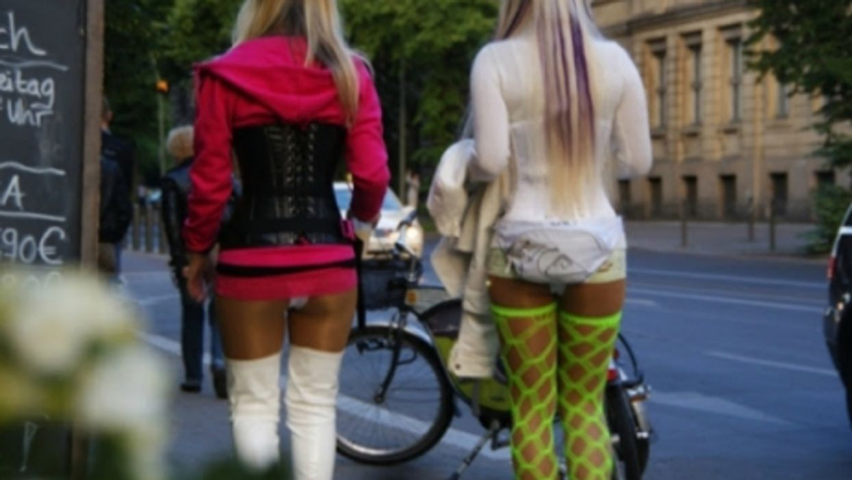 Prostitutes in the streets of Berlin