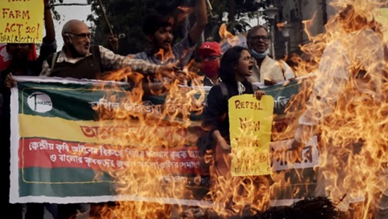 Protest continue in Kolkata and across India against controversial agricultural bill