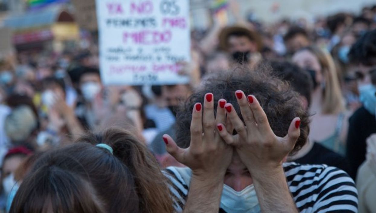 Protesters and LGBTQ rights groups took to the streets in Spain's biggest cities following the death of a 24-year-old man in a suspected homophobic attack last weekend.