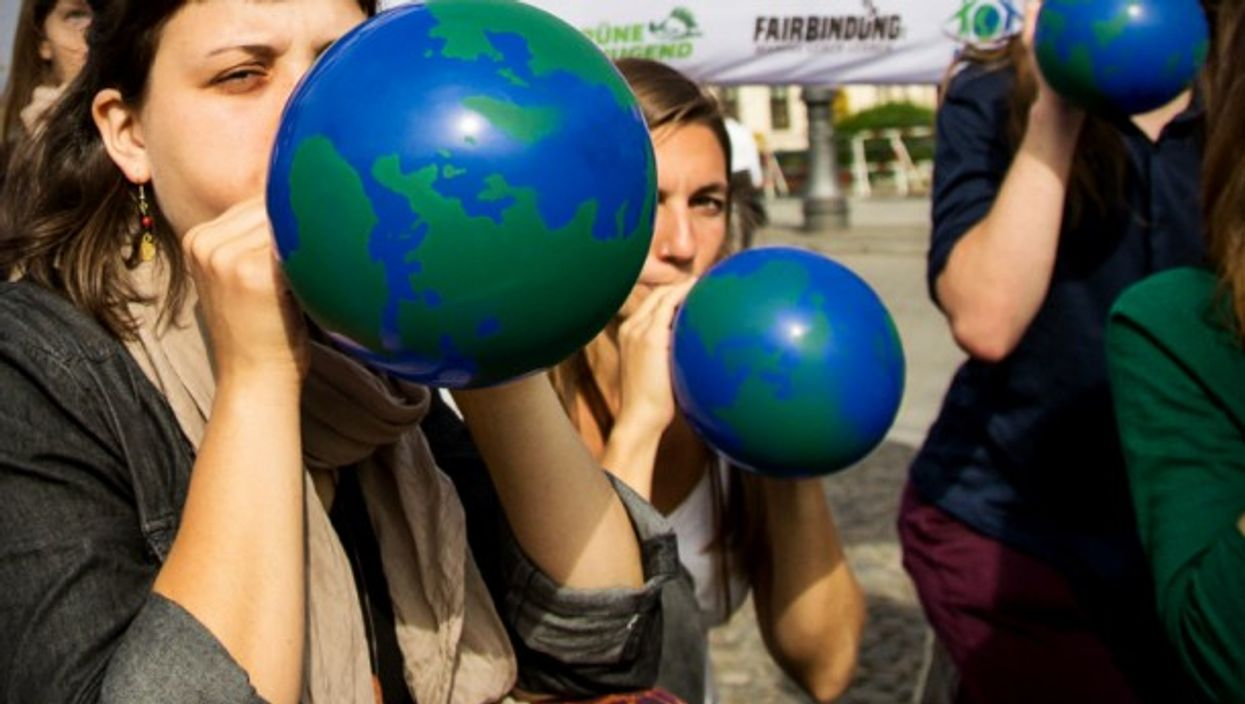 Protesting Earth Overshoot Day