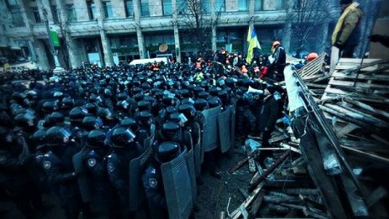 Protests in Kiev on Dec. 11, 2013