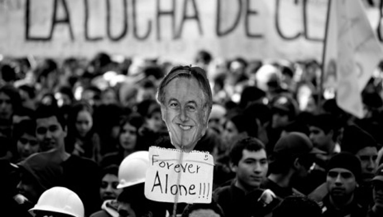 Protests in Santiago increasingly focus on President Piñera (Horment)