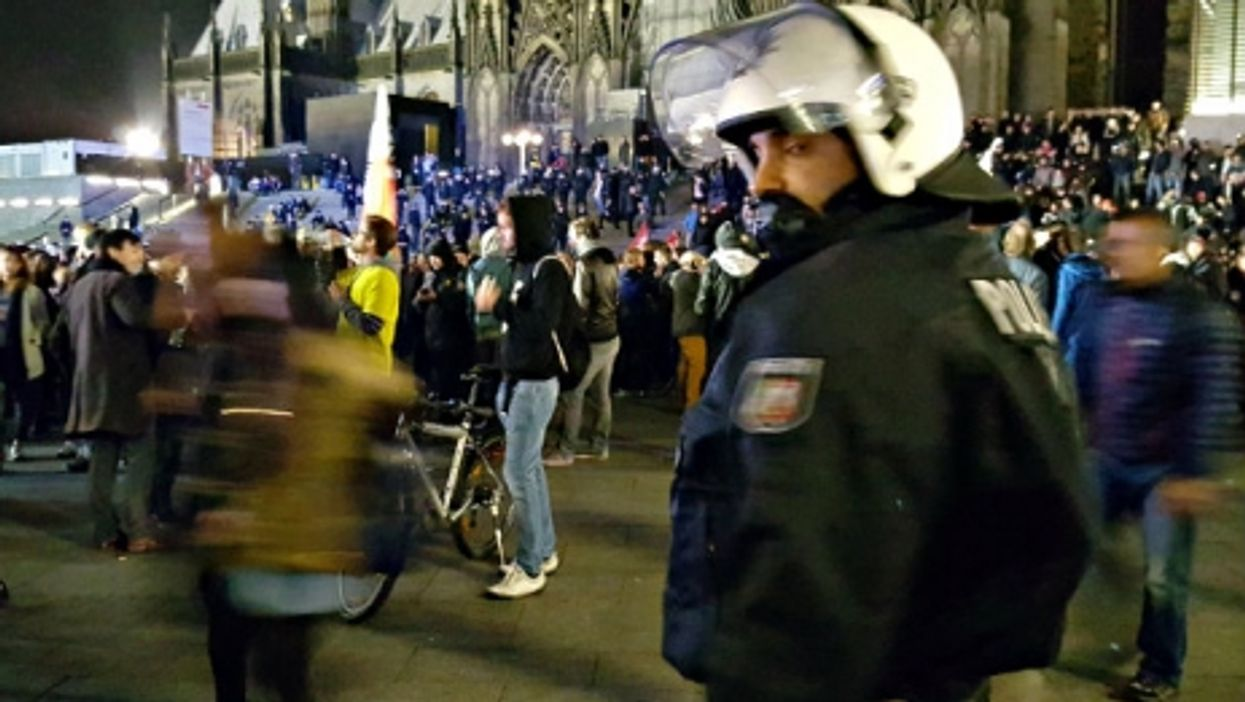 Protests last year in Cologne