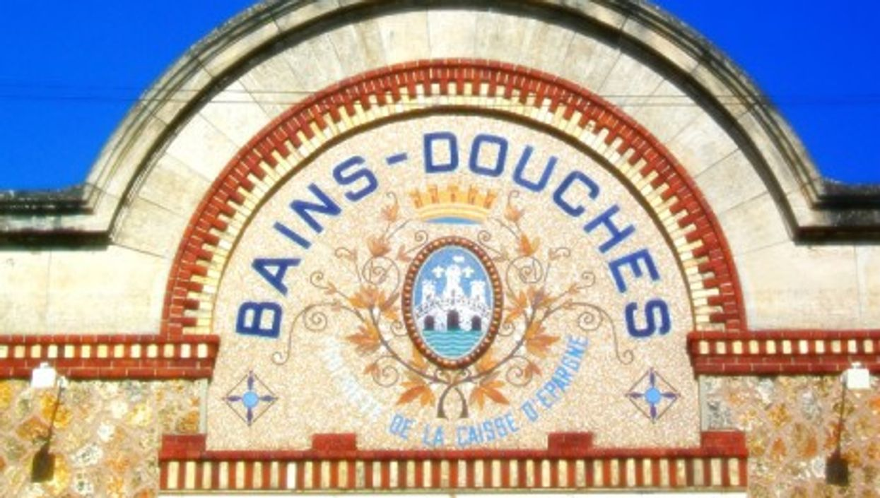 Public baths in Pontoise, northwest of Paris