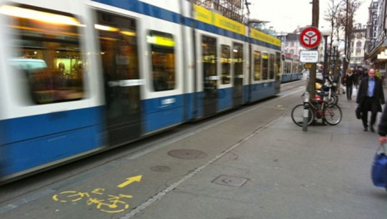 Public transportation in Zurich (andynash)
