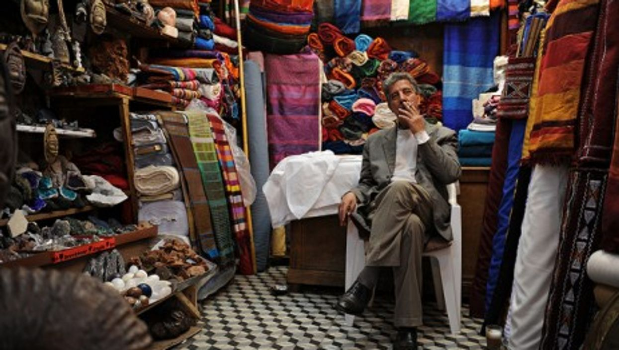 Puffing away in the medina (USAFE public affairs)
