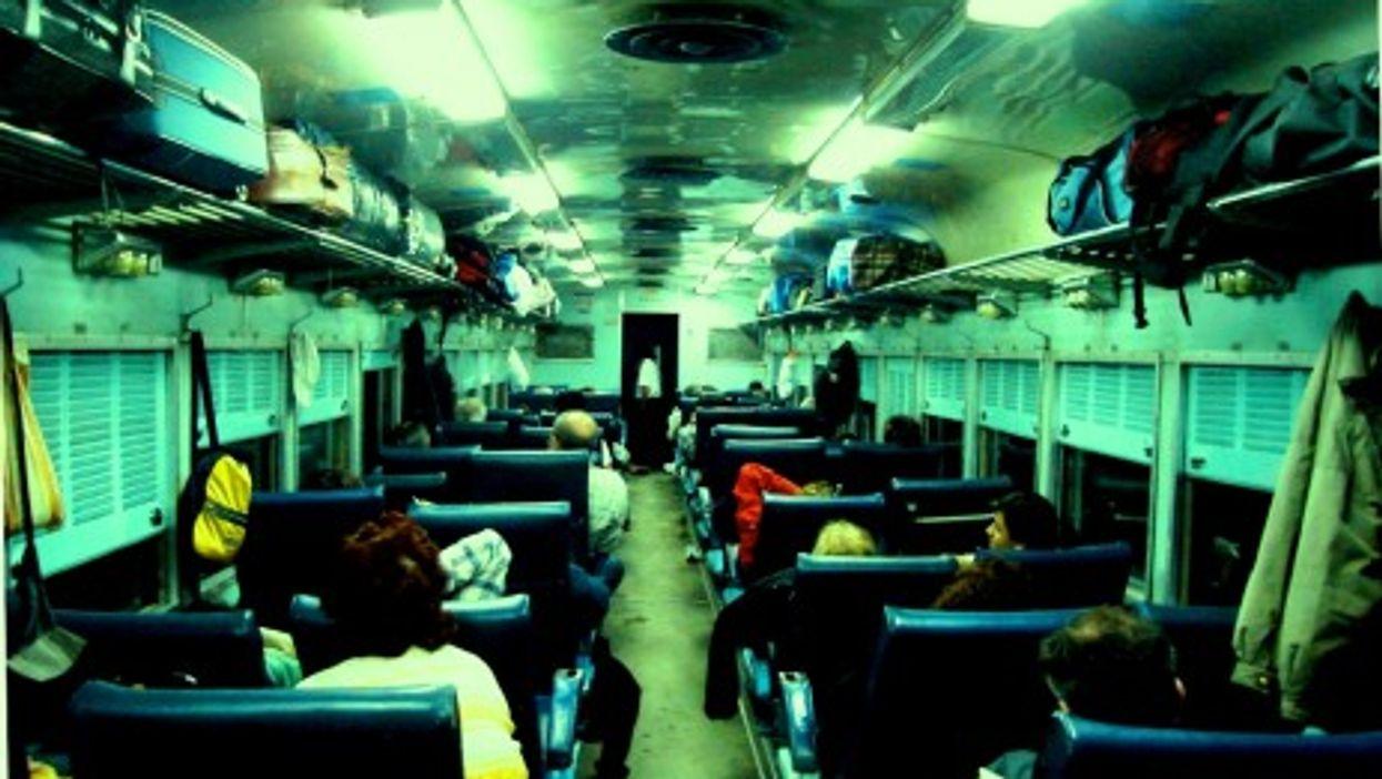 Pullman-Class Passengers To Mar Del Plata