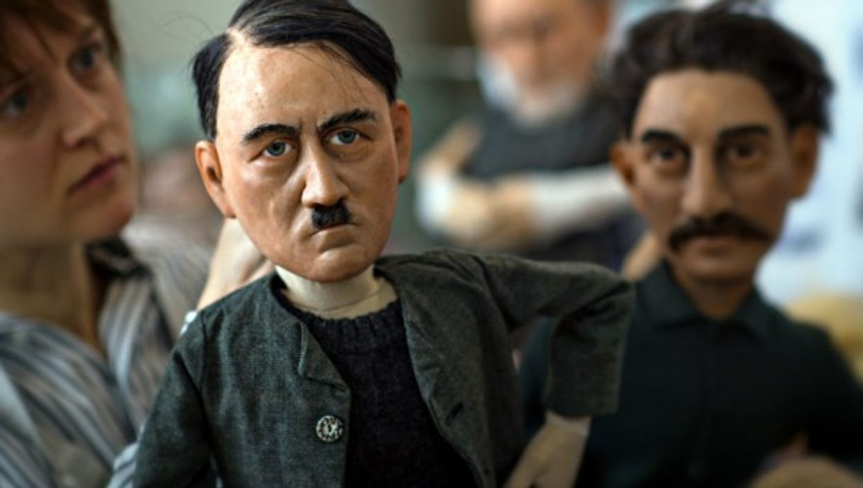 Puppets of 20th century's worst history