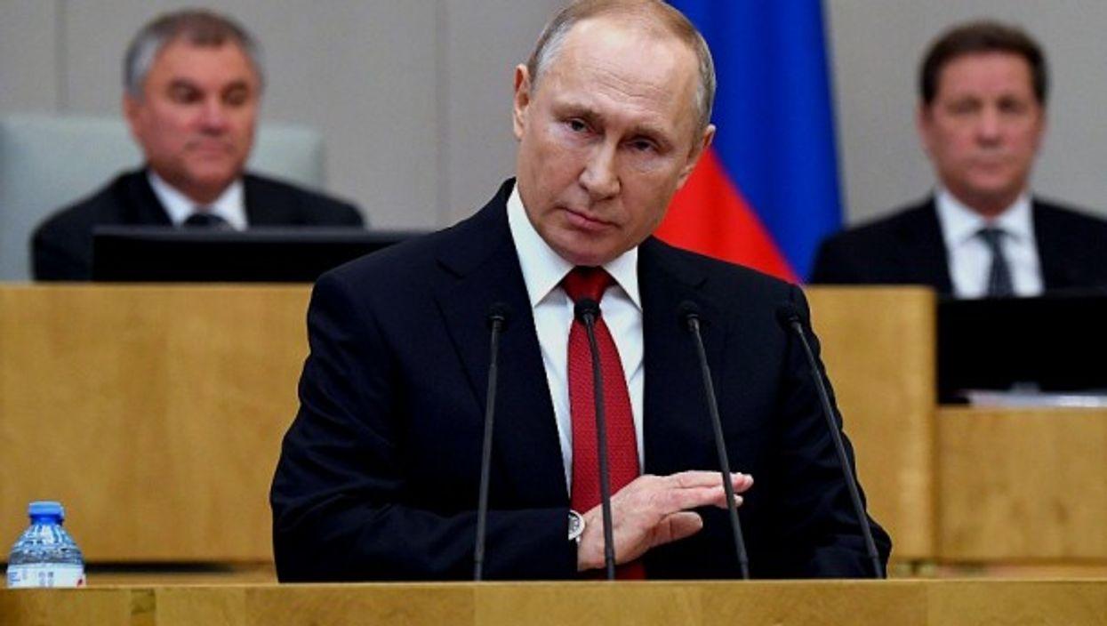 Putin addresses the Duma
