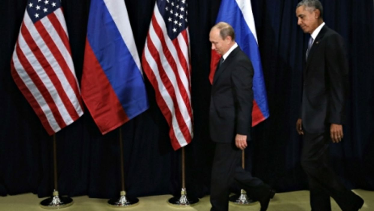Putin and Obama at the UN on Sept. 28, 2015