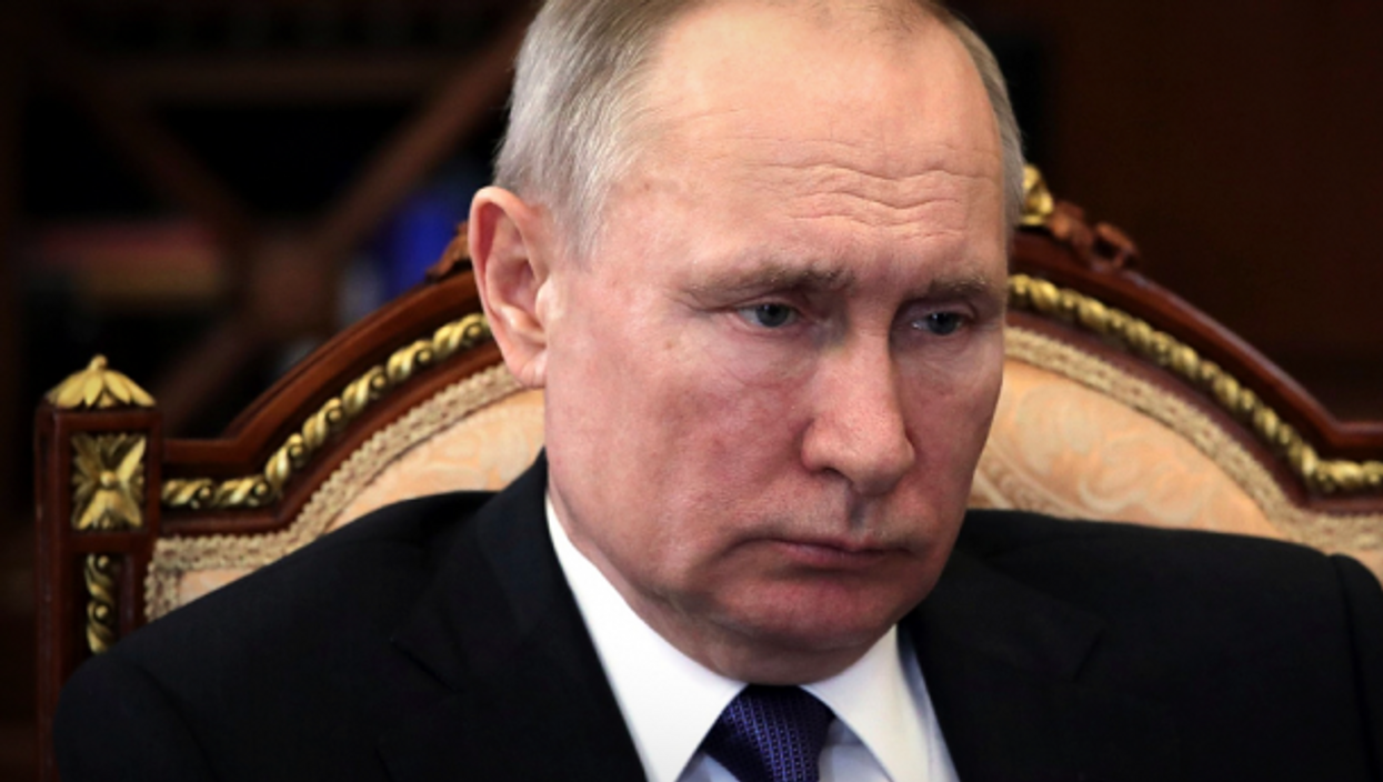 Putin in Moscow on March 27