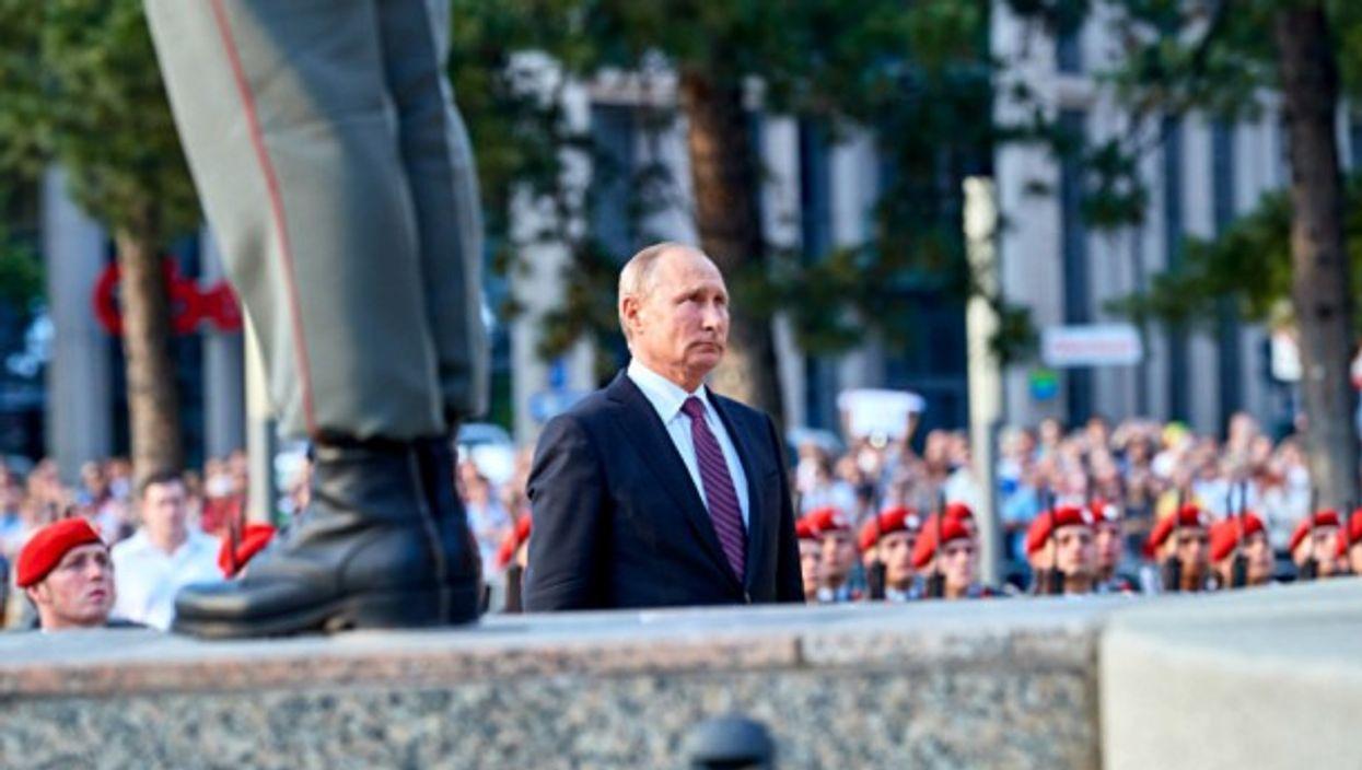 Putin in Vienna on June 5