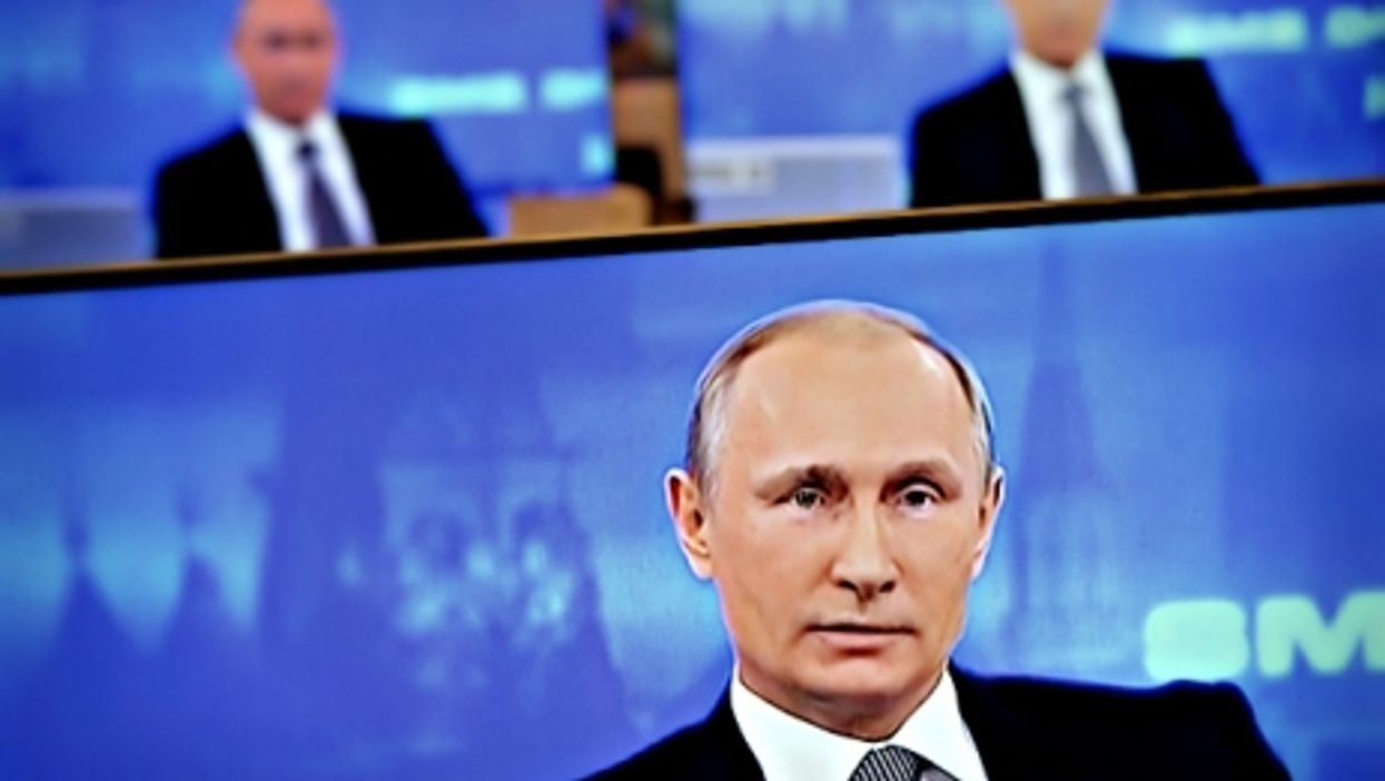 """""""Putin is obsessed with television."""""""