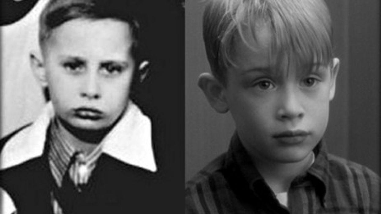 Putin (left) and Culkin (right)