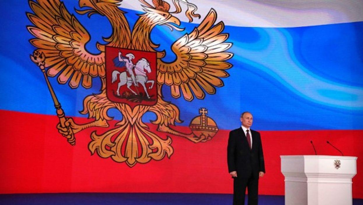 Putin the powerful...